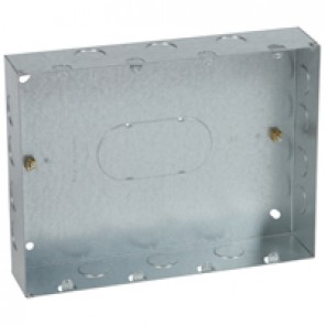 Flush mounting box - for Grid system - 4x3 gang - for 24 modules