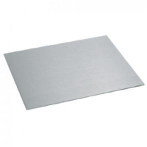 Stainless steel finishing plate - for 50 mm reduced height floor box
