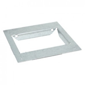 Mounting adaptors for concrete floor - for standard or flush version floor boxes - 8/12 modules