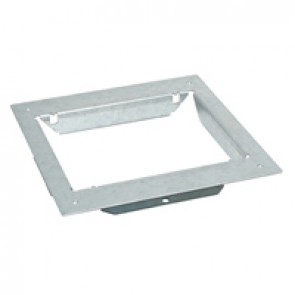 Mounting adaptors for concrete floor - for standard or flush version floor boxes - 12/18 modules