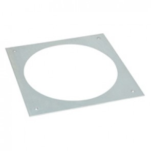 Mounting adaptor for concrete floor for round version floor boxes - 12/20 modules