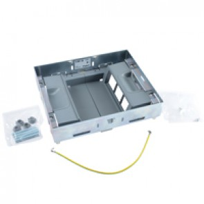 Support kits for flush floor boxes - for sockets in vertical position - 12 modules