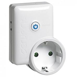Switch-socket - 10 A - German standard