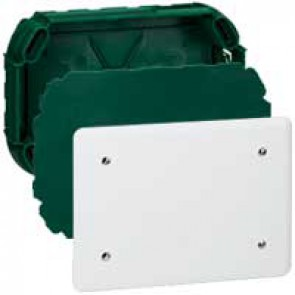 Junction box Batibox - with cover and screws - 120x120x40 mm - for masonry