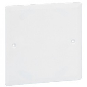 Universal cover Batibox - 80x80 mm - for 1 gang box