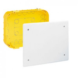 Junction box Batibox - with cover and screws - 115x115x40 mm - for dry partition