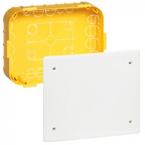 Junction box Batibox - with cover and screws - 230x170x50 mm - for dry partition