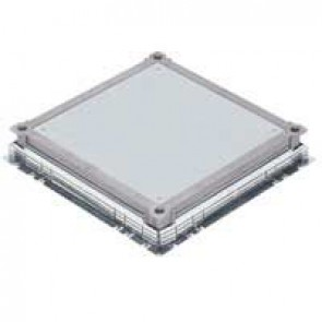 Underfloor box - universal metal in-screed back box