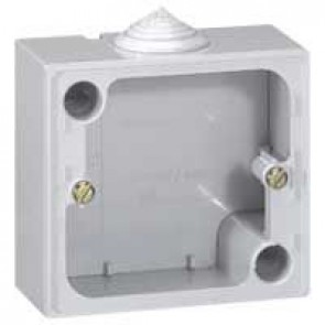 Surface mounting box Plexo IP55 - for 20 A sockets 557 03/06/08
