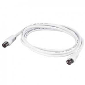 Male/female patch cord for TV connection - Ø 9.52 - 2 m