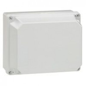 Industrial box - plastic - IP55 - IK07 - opaque cover - 220x170x140 mm