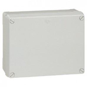 Industrial box - plastic - IP55 - IK08 - opaque cover - 310x240x160 mm
