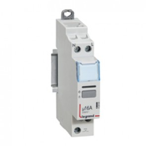 Single pole latching relay - silent - 16 A