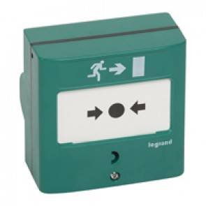 Device for emergency exit - 2 NO/NC - 5 A - 24 V= - RAL 6016