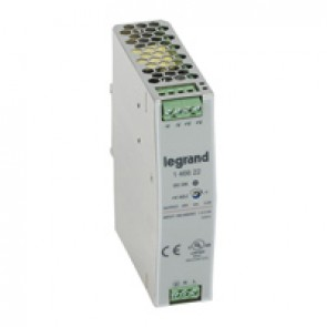 Stabilised switched modules power supply - single-phase -75-960 W-output 24 V= -75 W