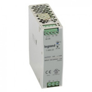 Stabilised switched modules power supply -single-phase -75-960 W-output 24 V= -120 W
