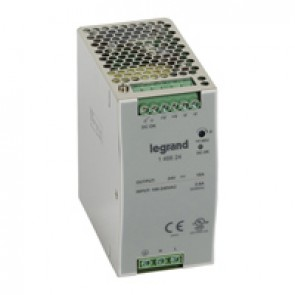 Stabilised switched modules power supply -single-phase -75-960 W-output 24 V= -240 W