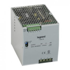 Stabilised switched modules power supply - three-phase - 960 W - output 24 V= - 960 W