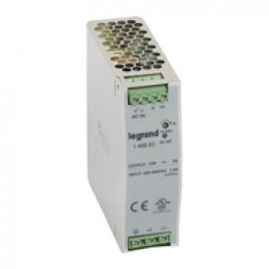 Stabilised switched modules power sup. -single/two-pheight -120-480 W -output 24 V= -120 W