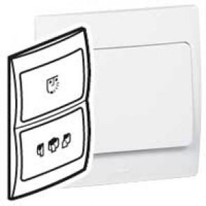 Shaver socket Mallia - 240 V / 120 V~ - 50/60 Hz - white