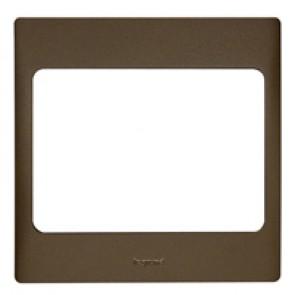 Plate Mallia - 1 gang - bronze