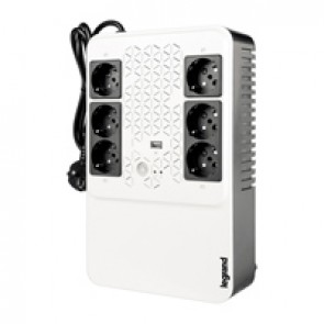 Keor multiplug Line interactive UPS 600 VA - 360 W - 4+2 French standard output sockets
