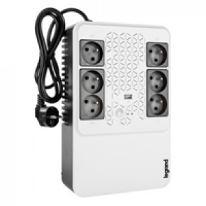 Keor multiplug Line interactive UPS 800 VA - 480 W - 4+2 French standard output sockets