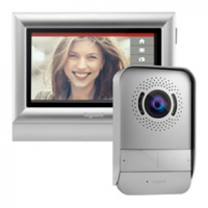"Video door entry kit with 7"" touch screen internal unit"