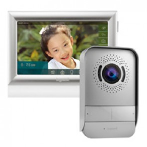 "Video door entry kit with 10"" touch screen internal unit"