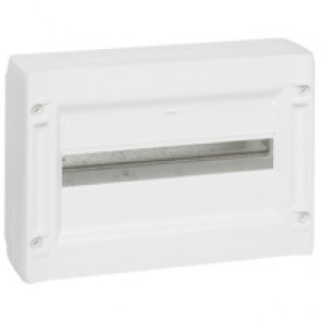 Distribution cabinet XL³ 125 - 1 row - 18 modules - surface mounting