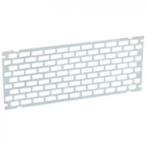 Perforated plate - for 18 modules PLEXO³ cabinets - Height 150 mm