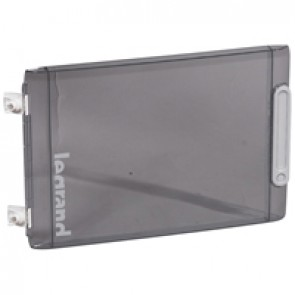 Door - for XL² 125 distribution cabinet Cat.No 4 016 76 - Transparent