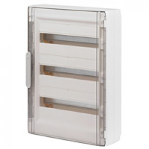 Door - for XL² 125 distribution cabinet Cat.No 4 016 78 - Transparent