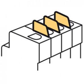 Insulating shield for MCB-DX³ - 1 module per pole