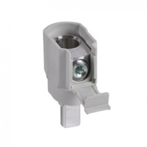 Aluminium terminal DX³ - 95 mm² for 1.5 modules/pole MCB