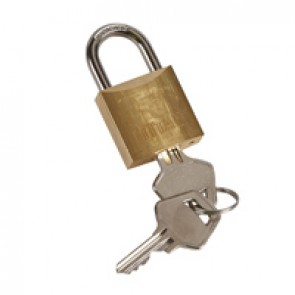 Padlock Ø5 mm DX³ - shackle type