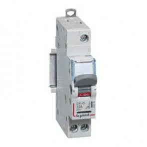 Isolating switch - 1P 250 V~ - 32 A - with indicator