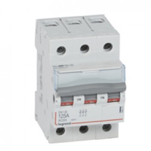 Isolating switch - 3P 400 V~ - 125 A
