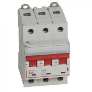 Remote trip head isolating switch DX-IS - visible load break - 3P 400 V~ - 40 A