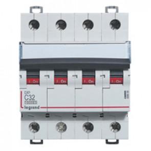 MCB - DX³ 10000 - 16 kA - 4P 400 V~ - 32 A - C curve