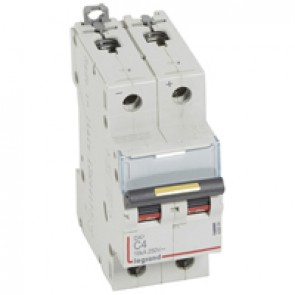 MCB - DX³ - 16 kA - direct current - 12 V= to 500 V= - 2P - 4 A