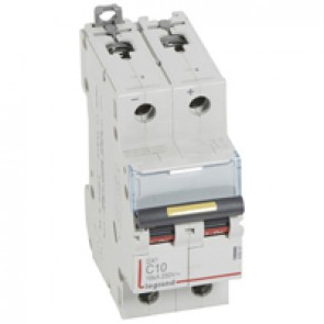 MCB - DX³ - 16 kA - direct current - 12 V= to 500 V= - 2P - 10 A