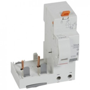 Add-on modules DX³ - 2P 230 V~ - 63 A - 30 mA - Hpi type - for 1.5 modules DX³ MCB