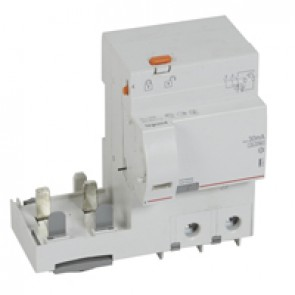 Add-on modules DX³ - 2P 230 V~ - 125 A - 30 mA - Hpi type - for 1.5 modules DX³ MCB