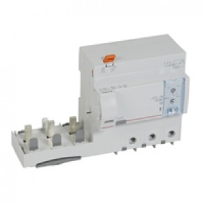 Add-on modules DX³ - 3P-400 V~ -125 A-300/1000 mA adjustable -Hpi type -1.5 modules DX³ MCB