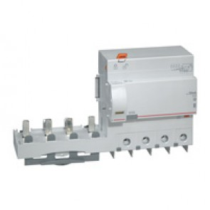 Add-on modules DX³ - 4P 400 V~ - 125 A - 30 mA - AC type - for 1.5 modules DX³ MCB