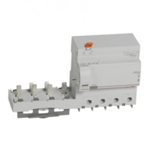 Add-on modules DX³ - 4P 400 V~ - 125 A - 300 mA - AC type - for 1.5 modules DX³ MCB