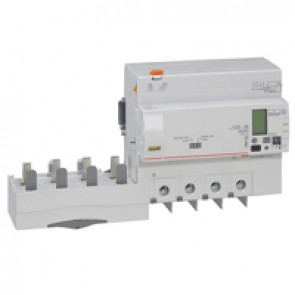 Add-on modules DX³ - 4P- 400 V~ - 125 A- 30/3000 mA- Hpi type / integrated measurement