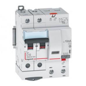 RCBO - DX³ 6000 -10 kA -2P-230 V~ -10 A -10 mA -AC type