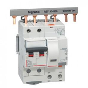 RCBO - DX³ 6000 -10 kA -2P-230 V~ -10 A -30 mA -AC type